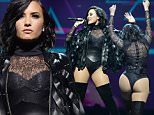 NEW YORK, NY - JULY 08:  Demi Lovato performs onstage during the 2016 Honda Civic Tour: Future Now at Barclays Center of Brooklyn on July 8, 2016 in New York, New York.  (Photo by Kevin Mazur/Getty Images )