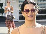 Beverly Hills, CA - Jenna Dewan grabs a few bags of goodies from Epione Cosmetic Laser Center in Beverly Hills. The beautiful brunette actress smiled and waving at the cameras as she returned to her car in a full length patterned dress and wedge heels.\nAKM-GSI   July  8, 2016\nTo License These Photos, Please Contact :\nMaria Buda\n(917) 242-1505\nmbuda@akmgsi.com\nsales@akmgsi.com\nor \nMark Satter\n(317) 691-9592\nmsatter@akmgsi.com\nsales@akmgsi.com\nwww.akmgsi.com