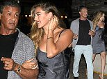 "July 10th, 2016 - Saint Tropez\n****** Exclusive ******\nSylvester Stallone enjoys a night out with family at the St Tropez most prestigious restaurant "" L'Opera "" as they continue his 70th birthday celebrations in south of France.\n****** BYLINE MUST READ : ©Spread Pictures ******\n****** No Web Usage before agreement ******\n******Please hide the children's faces prior to the publication******\n****** Stricly No Mobile Phone Application or Apps use without our Prior Agreement ******\nEnquiries at photo@spreadpictures.com"