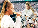 IMAGE DISTRIBUTED FOR PARKWOOD ENTERTAINMENT - Beyonce performs during the Formation World Tour at Croke Park Stadium on Saturday, July 9, 2016, in Dublin. (Photo by Andrew White/Invision for Parkwood Entertainment/AP Images)