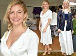 Mandatory Credit: Photo by Nick Harvey/REX/Shutterstock (5754214d)\nSienna Miller\nThe Polo Ralph Lauren VIP Suite, Wimbledon Tennis Championships, London, UK - 10 Jul 2016\n