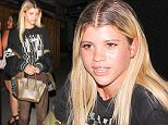 9.JULY.2016 - HOLLYWOOD - USA\n*** STRICTLY AVAILABLE FOR UK AND GERMANY USE ONLY ***\nSofia Richie is spotted leaving The Nice Guy after a night of hanging out with friends. The model looks serious as she hops into her ride with her group of friends.\nBYLINE MUST READ : AKM-GSI-XPOSURE\n***UK CLIENTS - PICTURES CONTAINING CHILDREN PLEASE PIXELATE FACE PRIOR TO PUBLICATION ***\n*UK CLIENTS MUST CALL PRIOR TO TV OR ONLINE USAGE PLEASE TELEPHONE 0208 344 2007*\n