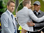 Mandatory Credit: Photo by Action Press/REX/Shutterstock (5754065t)\nRyan Reynolds\n'The Hitman's Bodyguard' on set filming, Amsterdam, The Netherlands - 09 Jul 2016\n