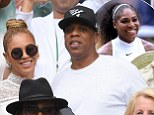 Jay Z, Beyonce and Serena