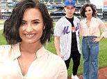 NEW YORK, NY - JULY 07:  Nick Jonas and Demi Lovato attend a New York Mets game at Citi Field on July 7, 2016 in New York City.  (Photo by Kevin Mazur/Getty Images)