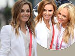 Geri Horner arriving for the 2016 British Grand Prix at Silverstone Circuit, Towcester. PRESS ASSOCIATION Photo. Picture date: Sunday July 10, 2016. See PA story AUTO British. Photo credit should read: David Davies/PA Wire. RESTRICTIONS: Editorial use only. Commercial use with prior consent from teams. Call +44 (0)1158 447447 for further information.