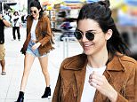 Mandatory Credit: Photo by Buzz Foto/REX/Shutterstock (5754259c)\nKendall Jenner\nKendall Jenner out and about, New York, USA - 10 Jul 2016\n