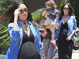 *EXCLUSIVE* Malibu, CA - A very pregnant Megan Fox steps out with her family in including husband Brian Austin Green and two boys Noah and Bodhi. Megan looks radiant in a denim button up, and long black maxi dress.\nAKM-GSI          July 10, 2016\nTo License These Photos, Please Contact :\nMaria Buda\n(917) 242-1505\nmbuda@akmgsi.com\nsales@akmgsi.com\nor \nMark Satter\n(317) 691-9592\nmsatter@akmgsi.com\nsales@akmgsi.com\nwww.akmgsi.com