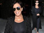 10 Jul 2016 - Los Angeles - USA  Kris Jenner seen leaving Craig's in West Hollywood.    BYLINE MUST READ : RACHPOOT / XPOSUREPHOTOS.COM  ***UK CLIENTS - PICTURES CONTAINING CHILDREN PLEASE PIXELATE FACE PRIOR TO PUBLICATION ***  **UK CLIENTS MUST CALL PRIOR TO TV OR ONLINE USAGE PLEASE TELEPHONE  44 208 344 2007 ***