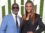LOS ANGELES, CA - JUNE 24:  TV personalities Peter A. Thomas (L) and Cynthia Bailey attend the 2015 BET Awards Debra Lee Pre-Dinner at Sunset Tower Hotel on June 24, 2015 in Los Angeles, California.  (Photo by Jason Kempin/BET/Getty Images for BET)