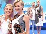 European premiere of 'Finding Dory' - Arrivals\nFeaturing: Ellen DeGeneres, Portia De Rossi\nWhere: London, United Kingdom\nWhen: 10 Jul 2016\nCredit: Lia Toby/WENN.com