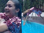 "EXCLUSIVE: *PREMIUM EXCLUSIVE RATES APPLY* Supermodel Gigi Hadid makes a splash jumping into a swimming pool wearing a pink sequined dress during a recent photoshoot.\nGigi took the plunge in front of surprised guests at the famous Chateau Marmont hotel in LA while posing for a low-key shoot.\nAn onlooker who managed to capture a few pictures of the surprising scene said: ""Gigi was smiling and laughing, wearing a full length sequined dress and in bare feet.\n""A photo assistant suggested she jump in the pool and swim over to the other side, which she did immediately. \n""She's a great diver! She came up like a mermaid on the other side and then swam around for a while with her pink sequined dress still on.""\n\nPictured: Gigi Hadid\nRef: SPL1315464  110716   EXCLUSIVE\nPicture by: Splash News\n\nSplash News and Pictures\nLos Angeles: 310-821-2666\nNew York: 212-619-2666\nLondon: 870-934-2666\nphotodesk@splashnews.com\n"
