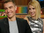 NEW YORK, NY: Monday, July 12, 2016 ¿ \n¿Watch What Happens Live¿ Host Andy Cohen was joined by the co-stars of the new thriller ¿Nerve¿ actress Emma Roberts and actor Dave Franco.\n