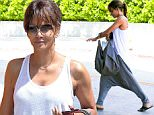 halle berry harem pants