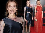 """NEW YORK, NY - JULY 11: Actress Diane Kruger attends the """"The Infiltrator"""" New York premiere at AMC Loews Lincoln Square 13 theater on July 11, 2016 in New York City.  (Photo by Jamie McCarthy/Getty Images)"""