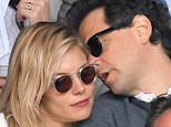 LONDON, ENGLAND - JULY 10:  Sienna Miller and Bennett Miller attend the Men's Final of the Wimbledon Tennis Championships between Milos Raonic and Andy Murray at Wimbledon on July 10, 2016 in London, England.  (Photo by Karwai Tang/WireImage)