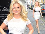 12 July 2016. Zara Holland Arrives at The Real Greek - book launch party in London UK Credit: GoffPhotos.com   Ref: KGC-201