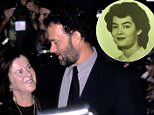 """NEW YORK CITY - OCTOBER 10:   Actor Tom Hanks and mother Janet Hanks attend """"The Story of Us"""" New York City Premiere on October 10, 1999 at the Ziegfeld Theater in New York City. (Photo by Ron Galella/WireImage)"""