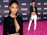 NEW YORK, NY - JULY 11:  Model Chanel Iman attends the VH1 Hip Hop Honors: All Hail The Queens at David Geffen Hall on July 11, 2016 in New York City.  (Photo by Michael Loccisano/Getty Images for VH1)
