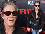 Mandatory Credit: Photo by Erik Pendzich/REX/Shutterstock (5754891l)\nMickey Rourke\n'The Infiltrator' film premiere, New York, USA - 11 Jul 2016\n