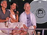 george amal clooney bill murray