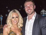 Dancer Kristina Rihanoff and Rugby player Ben Cohen at the Ben Cohen Foundation Ball in England on the 1 March 2014.   Kristina Rihanoff and Ben Cohen file photo, Britain.   Mandatory Credit: Photo by REX/Shutterstock (5540149b)