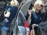 154839, Kirsten Dunst barely squeezes out of her car before heading into a nail salon. She was parked in a tight parking spot in front of Bella Cures salon. Los Angeles, California - Tuesday July 12, 2016. Photograph: © Sam Sharma, PacificCoastNews. Los Angeles Office (PCN): +1 310.822.0419 UK Office (Photoshot): +44 (0) 20 7421 6000 sales@pacificcoastnews.com FEE MUST BE AGREED PRIOR TO USAGE