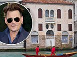 VENICE, ITALY - JANUARY 29:  A general view from the Gran Canal of Palazzo Dona San Gian Toffetti undergoing refurbishment on January 29, 2011 in Venice, Italy. According to reports in the Italian press, actor Johnny Depp is ready to offer 10 million euros to purchase Palazzo Don? San Gian Toffetti, a 17th Century mansion overlooking the Grand Canal  (Photo by Marco Secchi/Getty Images)