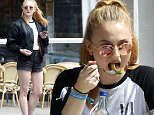 EXCLUSIVE FAO DAILY MAIL ONLINE - FEE AGREED\nMandatory Credit: Photo by Beretta/Sims/REX/Shutterstock (5768432v)\nSophie Turner\nSophie Turner out and about, London, UK - 13 Jul 2016\nHaving lunch in Hampstead\n