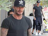 13.July.2016 - West Hollywood ñ USA\n**STRICTLY AVAILABLE FOR UK AND GERMANY USE ONLY**\n** EXCLUSIVE ALL ROUND PICTURES **\nWest Hollywood, CA - David Beckham is looking cool in all black, back to Los Angeles and back to working out at SoulCycle.\nBYLINE MUST READ : AKM-GSI-XPOSURE\n***UK CLIENTS - PICTURES CONTAINING CHILDREN PLEASE PIXELATE FACE PRIOR TO PUBLICATION ***\n*UK CLIENTS MUST CALL PRIOR TO TV OR ONLINE USAGE PLEASE TELEPHONE 0208 344 2007*\n