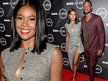 LOS ANGELES, CA - JULY 12:  Actress Gabrielle Union (L) and NBA player Dwyane Wade at the BODY at ESPYS Event on July 12th at Avalon Hollywood.  (Photo by Michael Kovac/Getty Images for ESPN)