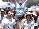 EXCLUSIVE: Chloe Sevigny is photobombed while shopping with a male friend at the Rose bowl flea market on July 10, 2016 in Pasadena.  Pictured: ChloÎ Savigny Ref: SPL1316405  100716   EXCLUSIVE Picture by: Ability Films / Splash News  Splash News and Pictures Los Angeles: 310-821-2666 New York: 212-619-2666 London: 870-934-2666 photodesk@splashnews.com