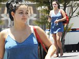 154890, Ariel Winter shows off a new back tattoo in a super short chambray dress for a waxing appointment in West Hollywood, and ending her day at a music studio in Burbank. Los Angeles, California - Wednesday July 13, 2016. Photograph: Sam Sharma, © PacificCoastNews. Los Angeles Office (PCN): +1 310.822.0419 UK Office (Photoshot): +44 (0) 20 7421 6000 sales@pacificcoastnews.com FEE MUST BE AGREED PRIOR TO USAGE