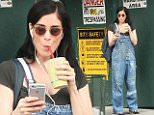 eURN: AD*212841276  Headline: Sarah Silverman looks happy and healthy after a near fatal health scare Caption: New York, NY - Sarah Silverman looks happy and healthy after a near fatal health scare last week where she almost died after a freak case of Epiglottis. Sarah looks like she has recovered nicely as she smiles while drinking a smoothie and shows off her casual street style in a dark t shirt, sunglasses, and paint splattered overalls.    AKM-GSI       July 13, 2016 To License These Photos, Please Contact : Maria Buda (917) 242-1505 mbuda@akmgsi.com sales@akmgsi.com Mark Satter (317) 691-9592 msatter@akmgsi.com sales@akmgsi.com www.akmgsi.com Photographer: MPNC  Loaded on 13/07/2016 at 23:14 Copyright:  Provider: MediaPunch/AKM-GSI  Properties: RGB JPEG Image (19904K 2228K 8.9:1) 2123w x 3200h at 72 x 72 dpi  Routing: DM News : GeneralFeed (Miscellaneous) DM Showbiz : SHOWBIZ (Miscellaneous) DM Online : Online Previews (Miscellaneous), CMS Out (Miscellaneous)  Parking: