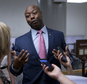 FILE - In this June 21, 2016, file photo, Sen. Tim Scott, R-S.C., talks with reporters on Capitol Hill in Washington. Scott, one of just two black members of the U.S. Senate and the only black Republican, said July 13 he has been repeatedly pulled over by law enforcement and was once even stopped by a Capitol Police officer who apparently did not believe he was a senator. (AP Photo/Alex Brandon, File)