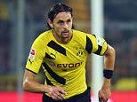 Neven Subotic of Dortmund controles the ball during the Bundesliga match between Borussia Dortmund and VfB Stuttgart at Signal Iduna Park on September 24, 2014 in Dortmund, Germany.    DORTMUND, GERMANY - SEPTEMBER 24:  (Photo by Alex Grimm/Bongarts/Getty Images)