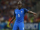 MARSEILLE, FRANCE - JULY 07: N'Golo Kante of France during the UEFA Euro 2016 semi final match between Germany and France at Stade Velodrome on July 7, 2016 in Marseille, France. (Photo by Catherine Ivill - AMA/Getty Images)