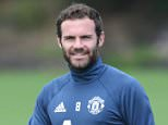 MANCHESTER, ENGLAND - JULY 13:  (EXCLUSIVE COVERAGE) Juan Mata of Manchester United in action during a first team training session at Aon Training Complex on July 13, 2016 in Manchester, England.  (Photo by John Peters/Man Utd via Getty Images)