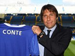LONDON, ENGLAND - JULY 14:  The new Chelsea Manager Antonio Conte poses at Stamford Bridge on July 14, 2016 in London, England.  (Photo by Darren Walsh/Chelsea FC via Getty Images)