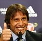 epa05424374 Chelsea's new Italian manager Antonio Conte gestures during a press conference at Stamford Bridge in London, Britain, 14 July 2016. Conte was officially unveiled as Chelsea's new manager.  EPA/ANDY RAIN