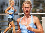 15.July.2016 - New York City - USA\n**STRICTLY AVAILABLE FOR UK AND GERMANY USE ONLY**\nClaire Danes works up a sweat in the New York heat wearing an aqua blue workout top. \nBYLINE MUST READ : AKM-GSI-XPOSURE\n***UK CLIENTS - PICTURES CONTAINING CHILDREN PLEASE PIXELATE FACE PRIOR TO PUBLICATION ***\n*UK CLIENTS MUST CALL PRIOR TO TV OR ONLINE USAGE PLEASE TELEPHONE 0208 344 2007*\n
