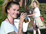 EXCLUSIVE: Ireland Baldwin, daughter of Alec Baldwin and Kim Basinger looks as if she has had a bit too much sun while out with a girlfriend in Venice, Ca\n\nPictured: Ireland Baldwin\nRef: SPL1318654  130716   EXCLUSIVE\nPicture by: GoldenEye /London Entertainment\n\nSplash News and Pictures\nLos Angeles: 310-821-2666\nNew York: 212-619-2666\nLondon: 870-934-2666\nphotodesk@splashnews.com\n