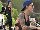 14.July.2016 - Ibiza - Spain\nAustralian Model and DJ Ruby Rose arrives at the home of DJ Eric Morillo in Ibiza, Spain\n*AVAILABLE FOR UK ONLY*\nBYLINE MUST READ : XPOSUREPHOTOS.COM\n***UK CLIENTS - PICTURES CONTAINING CHILDREN PLEASE PIXELATE FACE PRIOR TO PUBLICATION ***\nGERMAN CLIENTS PLEASE CALL TO AGREE FEE PRIOR TO PUBLICATION **UK AND USA CLIENTS MUST CALL PRIOR TO TV OR ONLINE USAGE PLEASE TELEPHONE  +44 208 344 2007