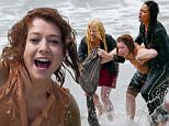 *EXCLUSIVE* Malibu, CA - Alyson Hannigan is dragged from the water by co-star Vanessa Lachey and Megan Hilty while filming TV Land Remake, 'First Wives Club' in Malibu.\n \n AKM-GSI   July  15, 2016\nTo License These Photos, Please Contact :\nMaria Buda\n(917) 242-1505\nmbuda@akmgsi.com\nsales@akmgsi.com\nor \nMark Satter\n(317) 691-9592\nmsatter@akmgsi.com\nsales@akmgsi.com\nwww.akmgsi.com