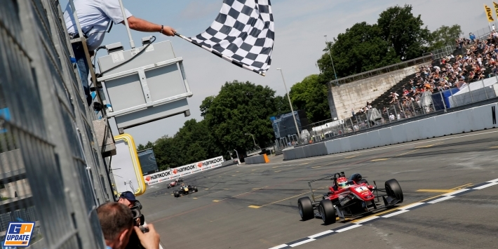 Stroll builds lead with double Norisring win