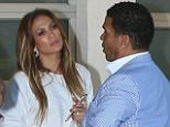 EXCLUSIVE: Jennifer Lopez had lunch at the Fig &Olive with Benny Medina and a friend today in West Hollywood, CA.  Pictured: Jennifer Lopez, Benny Medina Ref: SPL1320145  160716   EXCLUSIVE Picture by: MONEY$HOT-$HAWN/ Splash  Splash News and Pictures Los Angeles: 310-821-2666 New York: 212-619-2666 London: 870-934-2666 photodesk@splashnews.com