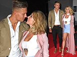 14 July 2016. Love Island Heading Home Wrap Party at The Ministry Of Sound, London. Olivia Buckland, Alex Bowen Credit: Andy Oliver/GoffPhotos.com   Ref: KGC-143