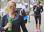 Exclusive... 52122678 Actress and busy mom Reese Witherspoon heads to yoga with her son Deacon Phillippe in Los Angeles, California on July 14, 2016.  The two appeared to be in good spirits. FameFlynet, Inc - Beverly Hills, CA, USA - +1 (310) 505-9876