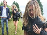 Picture Shows: Peter Crouch, Abbey Crouch, Abbey Clancy  July 16, 2016\n \n **MINIMUM PRINT AND WEB FEE £300**\n \n Sergio 'Serge' Pizzorno of the rock band Kasabian marries his long-term girlfriend, Amy White, at their home in Leicester, England.\n \n The couple have two young sons together.\n \n **MINIMUM PRINT AND WEB FEE £300**\n \n Exclusive All round\n WORLDWIDE RIGHTS\n \n Pictures by : FameFlynet UK © 2016\n Tel : +44 (0)20 3551 5049\n Email : info@fameflynet.uk.com