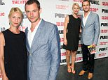 """NEW YORK, NY - JULY 18: (L-R) Claire Danes and Hugh Dancy attend the opening night of """"Privacy"""" at The Public Theater on July 18, 2016 in New York City.  (Photo by Noam Galai/WireImage)"""